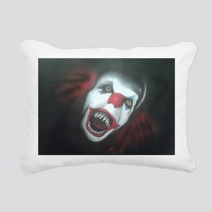 EvilClown Rectangular Canvas Pillow
